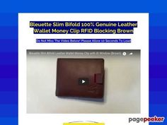awesome #Bleuette Slim Bifold 10...