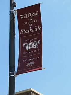 Starkville is proud to be home of the MSU Bulldogs!