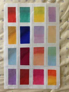 Chartpak cool gray gama de colores ilustración 1