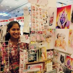 Visit us at artist alley at SMX Convention Center Manila October 1 2017 Artist Alley, October 1, Convention Centre, Manila, Artworks, Photo Wall, My Arts, Cosplay, Frame