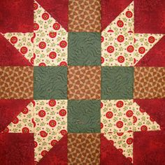 Starwood Quilter: Sister Star Quilt Block