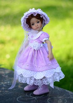 """Sunday Best""Dress,Outfit,Clothes for 13""Effner Little Darling by Lumi #ClothingAccessories"