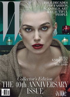 Keira Knightley - W Magazine Cover [United States] (November 2012)