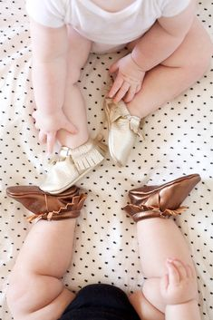 Freshly Picked Baby Moccs- just saw this young woman's company on Shark Tank and they look amazing! So cute!