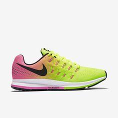 Nike Air Zoom Pegasus 33 OC Mens Running Shoes 11 Volt Hyper Pink 846327 999 #Nike #RunningCrossTraining