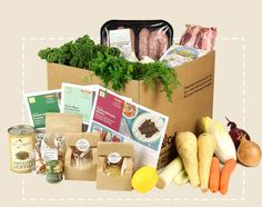 Boxes | Abel & Cole, smoothie, salad and recipe boxws