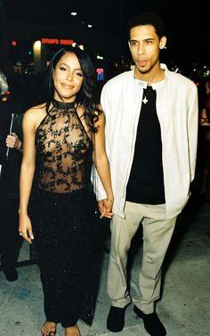 shierrasumizu:Aaliyah and her brother Rashad