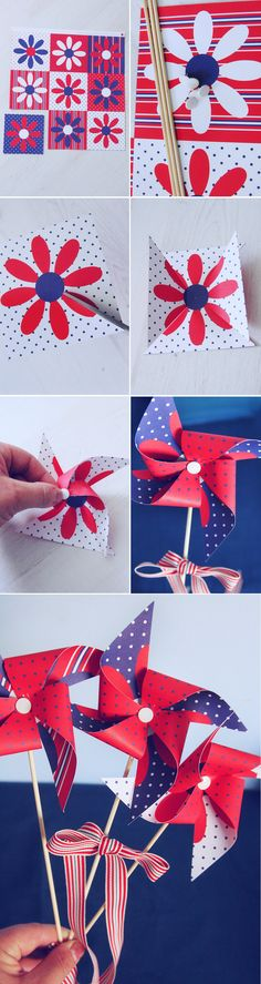 web-Maritim-CS4 Diy And Crafts, Crafts For Kids, Arts And Crafts, Paper Crafts, E Major, Spring Crafts, Fourth Of July, Activities For Kids, Gift Wrapping