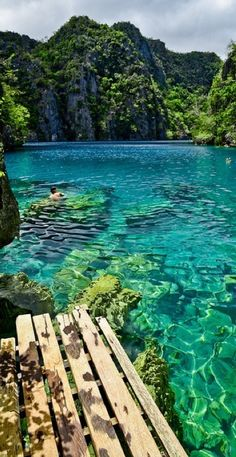 Kayangan Lake in the Coron Islands ~ Palawan, Philippines