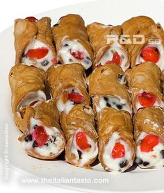 Sicilian cannoli - Authentic Italian recipe.  This is a great recipe!  The shells are easy to make (and difficult to find premade in the store), so it's good to know how to make them!  You can do a lot of variations, too!  Also, enjoy the translated text on the website... so funny when you realize that who wrote this is totally still thinking in Italian!
