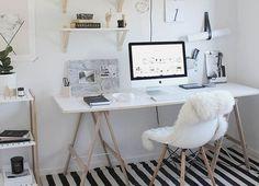 Een eigen werkplek in huis creëren