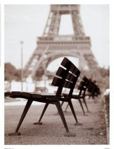Paris, this is a great spot for people watching...