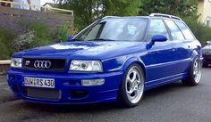 Audi RS2 - Porche bits as standard. Rare as.