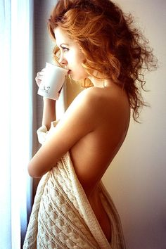 any chance i could get you to drink your coffee like this? yep =)