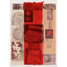 "ROBERT RAUSCHENBERG (1925-2008) <br /> ""FLIRT"" <br /> 1979, pencil signed and dated, numbered 5/100, the full sheet, Institute of Contemporary Art, Philadelphia, publisher. Color silkscreen with collage on wove paper. <br /> sheet: 30 15/16 x 22 1/8 in. (78.6 x 56.2cm) <br />"