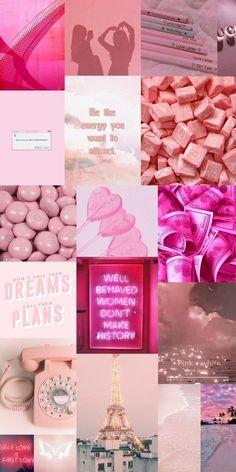 Pink Wallpaper Cartoon, Pink Wallpaper Girly, Whats Wallpaper, Iphone Wallpaper Quotes Love, Iphone Wallpaper Tumblr Aesthetic, Pink Wallpaper Iphone, Retro Wallpaper, Trendy Wallpaper, Aesthetic Pastel Wallpaper