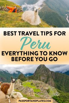 Heading to Peru? Don't leave before reading this list of things to know when traveling to Peru - all 28 Peru travel tips you need before traveling to Peru!