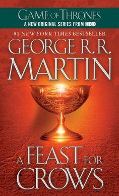 Book 4 in the Song of Ice and Fire series.  This book is actually split into two parts and you only see half the characters.