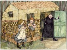 Hansel and Gretel, Gwen Burns