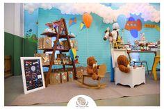 Inspiração festa tema brinquedos antigos