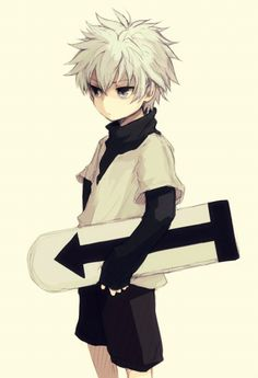 Killua - Hunter x Hunter. If you were wondering, I post a pic of Killua every 100 pics (and a few in between). Hisoka, Killua, Alluka Zoldyck, Hunter X Hunter, Hunter Anime, Cute Anime Boy, I Love Anime, Awesome Anime, Anime Guys
