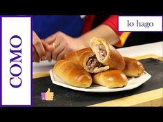 Como hacer Cachitos de Jamón venezolano Paso a Paso - 2019 - YouTube Venezuelan Food, Venezuelan Recipes, Pan Relleno, Dinner Rolls, Empanadas, Hot Dog Buns, Biscotti, Yummy Food, Favorite Recipes