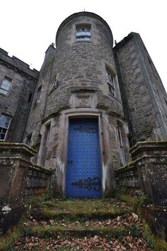 The abandoned Eastend House in Lanarkshire, Scotland