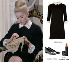 THE A TO Z OF SHOE SHOPPING - Capture Catherine Deneuve's alluring 'Belle du Jour' French chic