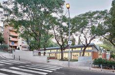 Oliveras Boix Arquitectes > Rehabilitació de la biblioteca de Montbau