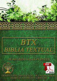 BIBLIA TEXTUAL BTX 3RA EDICION