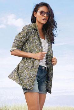 Mosaic Print Fold Away Jacket from Next