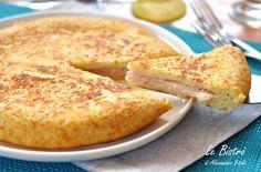 Puré de patata con jamón y queso Thermomix ☂ᙓᖇᗴᔕᗩ ᖇᙓᔕ☂ᙓᘐ . Potato Pie, Potato Dishes, Potato Recipes, My Recipes, Italian Recipes, Cooking Recipes, Easy Cooking, Cooking Time, My Favorite Food