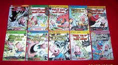 10 Black Lagoon Adventures Chapter Books 1st 2nd 3rd Grade Mike Thaler Ages 6-9