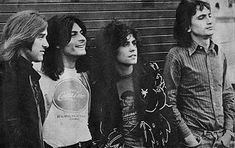 T. Rex were a rock band, formed in 1967 by singer/songwriter and guitarist Marc Bolan. http://en.wikipedia.org/wiki/T._Rex_(band)