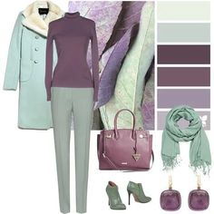 November Pastels, shades of my favorite colours Colour Combinations Fashion, Color Combinations For Clothes, Fashion Colours, Color Combos, Look Fashion, Fashion Outfits, Fashion Design, Moda Disney, Soft Summer Palette