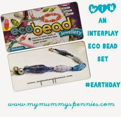 Earth Day 2015 - Eco Bead Craft Kit Review and Giveaway