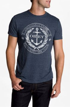 Obey 'Dissent Anchor' T-Shirt   Nordstrom