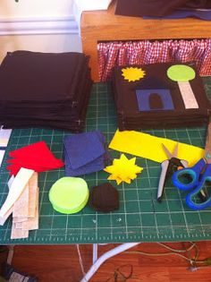 Sun Scholars: Busy Bag Swap Felt Board
