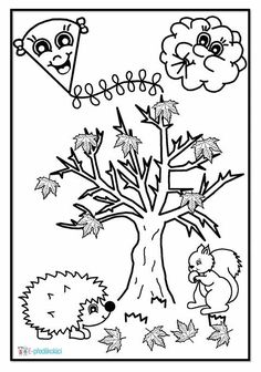 Autumn Activities For Kids, Autumn Crafts, Colour Images, Coloring Pages, Fairy Tales, Diy And Crafts, Preschool, Clip Art, Education