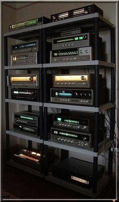 Hifi Stereo, Hifi Audio, Hi Fi System, Audio System, Hifi Stand, Home Audio Speakers, Audio Rack, Ham Radio Antenna, Wall Of Sound