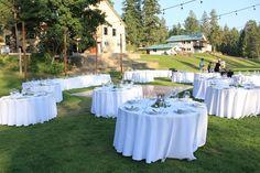 Weddings - Twinlow Camp and Retreat Center Wedding Reception, Wedding Venues, Wedding Ideas, Twin Lakes, Indoor Wedding, Indoor Outdoor, Weddings, Table Decorations, Marriage Reception