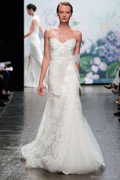 Monique Lhuillier Emma Wedding Dress- Originally $6000 for sale on OnceWed.com for $3600 (40% off). #weddingdress http://www.oncewed.com/used-wedding-dresses/emma-3/