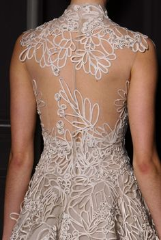 Valentino Couture S/S 2013 Runway Details