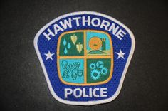Hawthorne Police Patch, Los Angeles County, California (Current 1979 Issue)