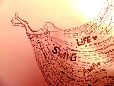 Swing Life Away Rise Against Siren Song of the Counter Culture My number one song, and a beautiful art rendering of it Lyric Quotes, Tattoo Quotes, Lyrics, Music Love, Music Is Life, Music Music, Swing Life Away, Number One Song, Rise Against
