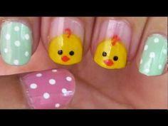 Easy Easter Nail Art