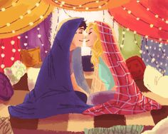 Percabeth blanket fort
