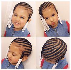 Black Kids Braids Hairstyles, Toddler Braided Hairstyles, Toddler Braids, Cute Little Girl Hairstyles, Natural Hairstyles For Kids, Baby Girl Hairstyles, Braids For Kids, Girls Braids, Kid Braids