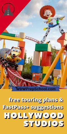 Planning a day at Disney's Hollywood Studios? Read this FIRST to help minimize your waits | Walt Disney World | Hollywood Studios | Star Wars | Toy Story |Touring plans | FastPass+ suggestions |#hollywoodstudios#disneyparks#disneyworld#fastpass
