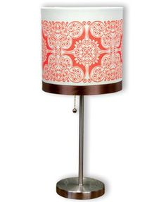 Ornamental Lamp Shade  http://www.favecrafts.com/Living-Room/Ornamental-Lamp-Shade-from-Inkadinkado/ml/1
